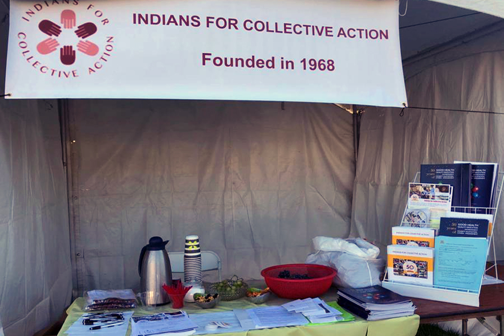 ICA's booth at Sevathon